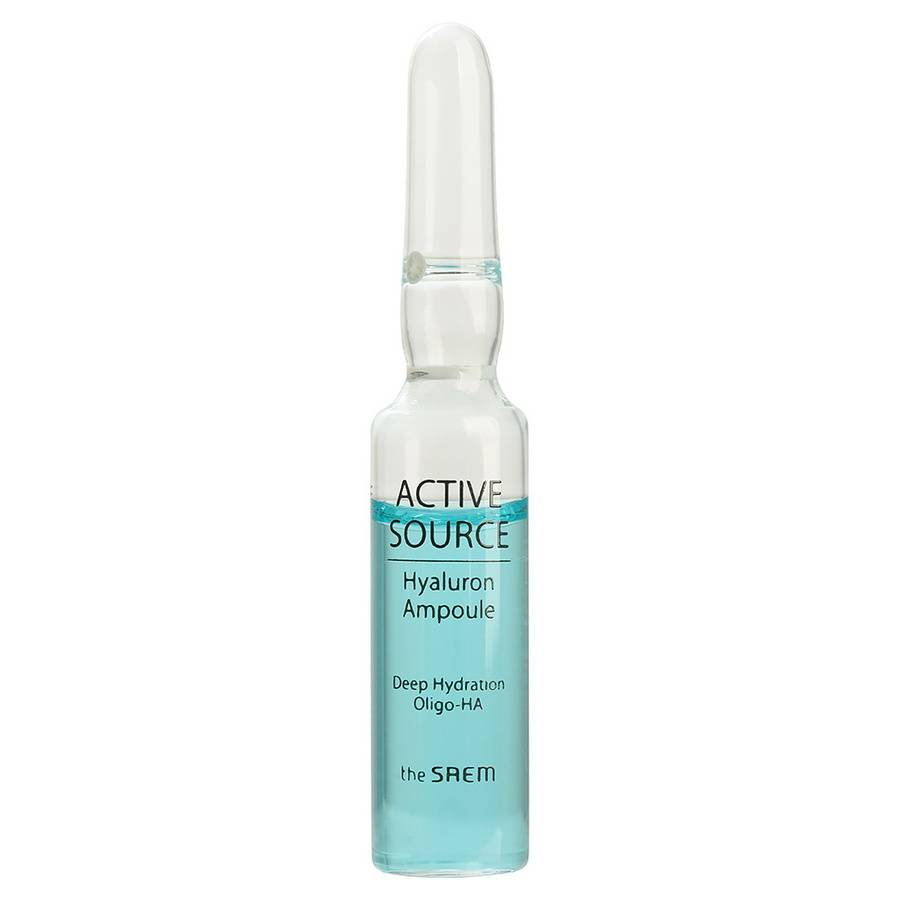 Эссенция для лица гиалуроновая в ампулах - The Saem Active Source Hyaluron Ampoule 2мл