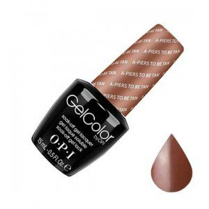 OPI, GelColor, Гель-лак, A-piers to be Tan, 15 мл
