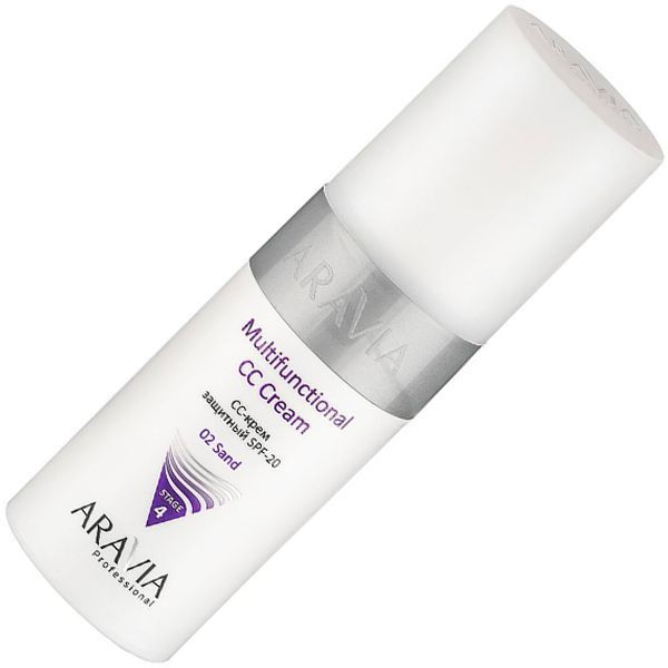 ARAVIA Professional Multifunctional CC-Cream CC-крем защитный SPF-20, тон 02 150 мл