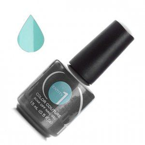 NEW - Цветной гель лак - Entity One Color Couture - C-Note Green 7506, 15мл