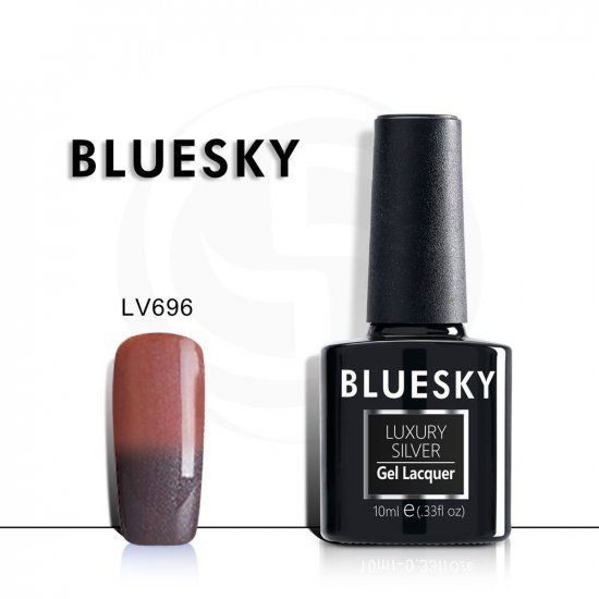 BLUESKY Luxury Silver Гель-лак 10мл LV696 ТЕРМО