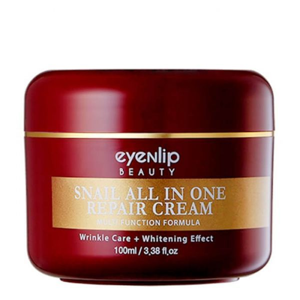Крем для лица с муцином улитки, Eyenlip Snail All In One Repair Cream 100 ml