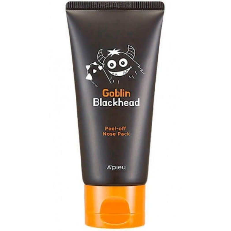 Маска-пленка для носа - Apieu Goblin Blackhead Peel-Off Nose Pack 50 мл