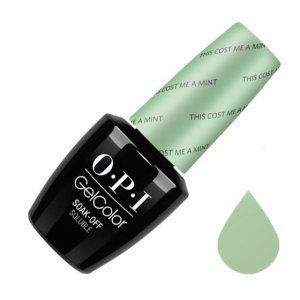 OPI, GelColor, Гель-лак, This Cost Me A Mint, 15 мл