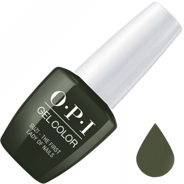 OPI, GelColor, Гель-лак, Suzi-The First Lady Of Nails, 15 мл